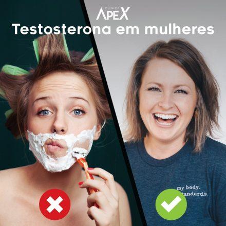Testosterona em mulheres